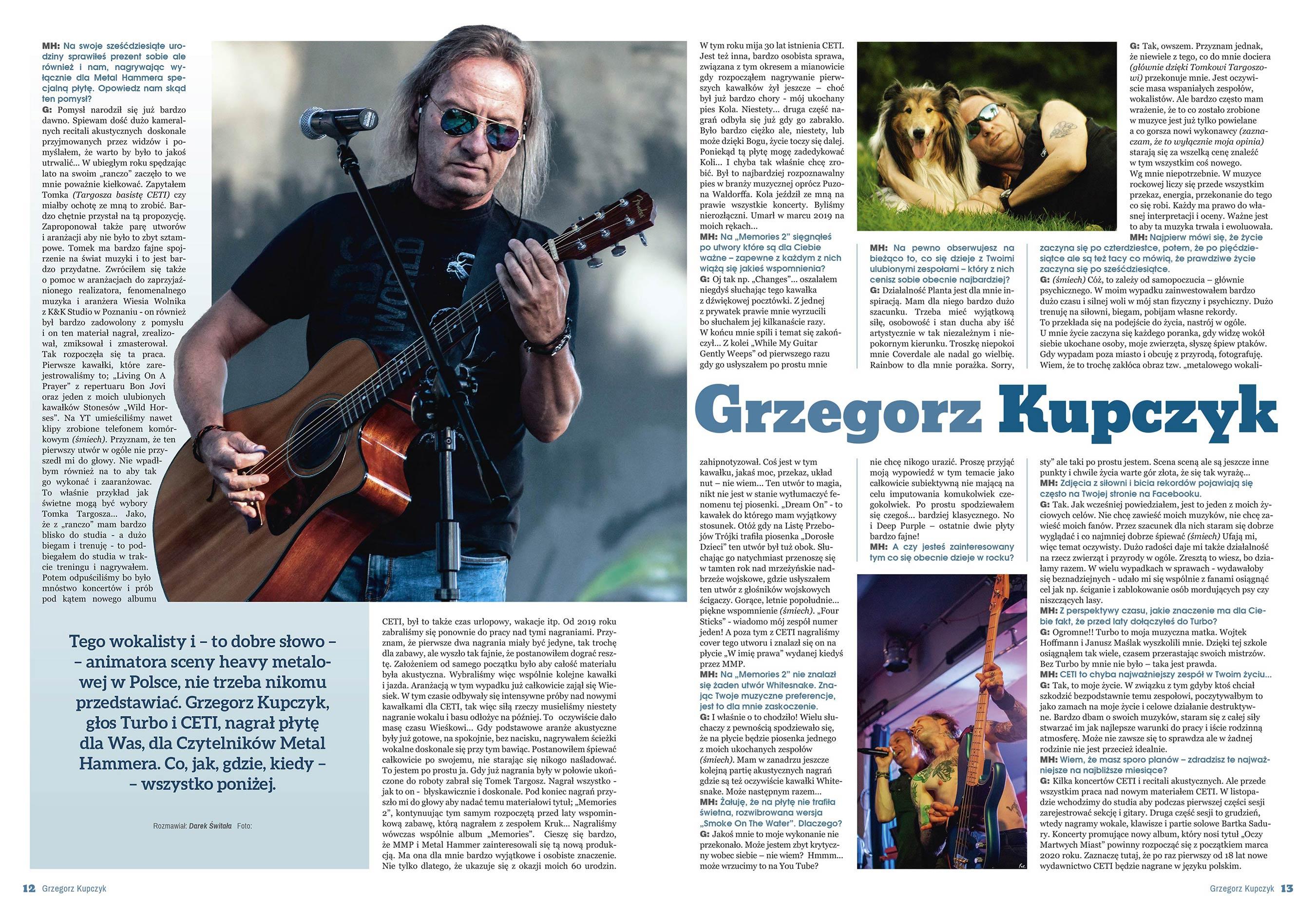 Grzegorz Kupczyk Wywiad